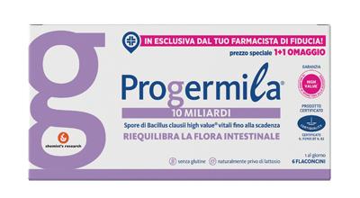 PROGERMILA 10 MILIARDI 6 FLACONCINI 10 ML - Farmaseller