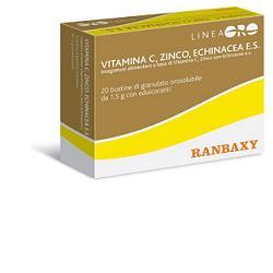 ORO RANBAXY VITAMINA C ZINCO ECHINACEA 20 BUSTINE X 1,5 G - FARMAEMPORIO