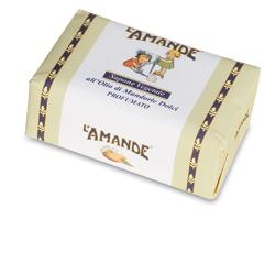L'AMANDE MARSEILLE SAPONE VEGETALE OLIO MANDORLE DOLCI 200 G - Farmapage.it