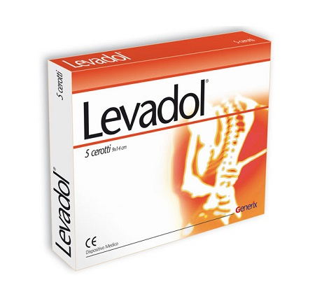 LEVADOL CEROTTO 9X14CM 5PZ prezzi bassi