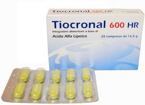 TIOCRONAL 600 HR 20 COMPRESSE - Turbofarma.it