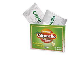CEROTTO CITRONELLO 30 PEZZI - Farmacia Bartoli
