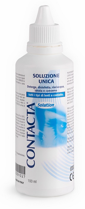 SOLUZIONE UNICA ISOTONICA CONTACTA 100ML - Farmaciaempatica.it