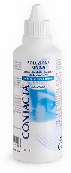 SOLUZIONE UNICA ISOTONICA CONTACTA 100ML - latuafarmaciaonline.it