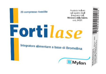 FORTILASE 20 COMPRESSE - Farmaci.me