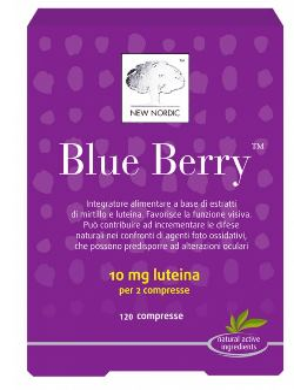 BLUE BERRY 120 COMPRESSE - Farmaunclick.it