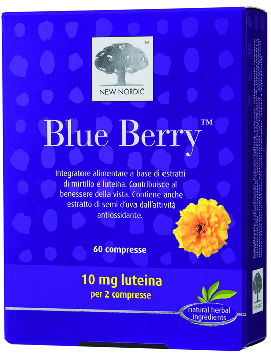 BLUE BERRY 60 COMPRESSE - Farmawing
