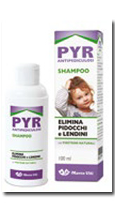 PYR ANTIPEDICUOSI SHAMPOO 100 ML - La farmacia digitale