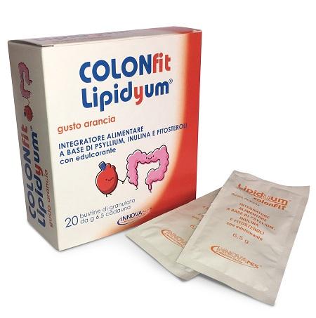 COLONFIT LIPIDYUM ARANCIA 20 BUSTINE - farmaciadeglispeziali.it