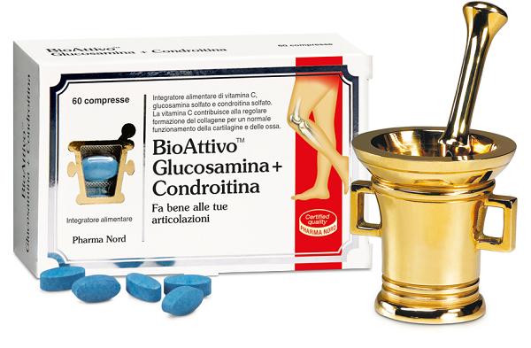 BIOATTIVO GLUCOSAMINA + CONDROITINA 60 COMPRESSE - Zfarmacia