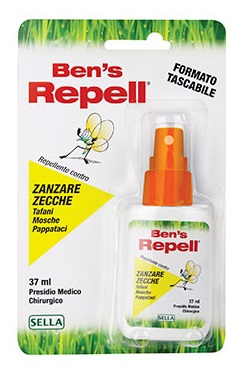BENS REPELL INSETTOREPELLENTE 37 ML - latuafarmaciaonline.it