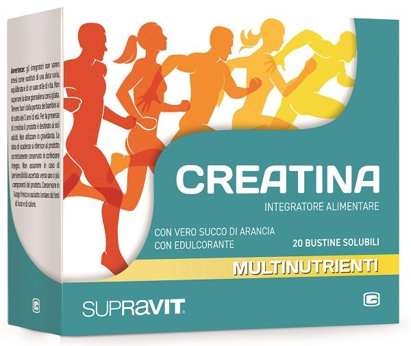 SUPRAVIT CREATINA GRANULATO 20 BUSTINE - Farmacia Giotti