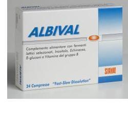 ALBIVAL PROBIOTICO 24 COMPRESSE - Farmaseller
