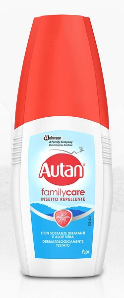 AUTAN FAMILY CARE VAPO 100 ML - Farmacia Giotti