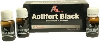 ACTIFORT BLACK 10 FLACONCINI 10 ML - Farmabros.it
