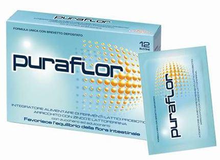 PURAFLOR 12 BUSTINE - Farmaciasconti.it
