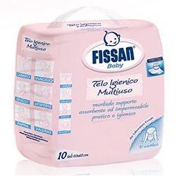 FISSAN TELI IGIENICI 60X60 CM 10 PEZZI - Farmacia Castel del Monte