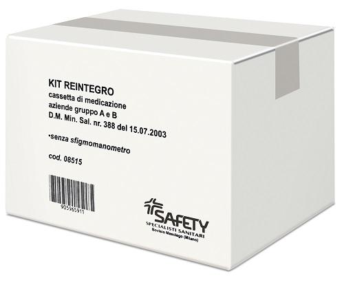 KIT REINTEGRO CASSETTA PRONTO SOCCORSO GRUPPO A/B - farmaciadeglispeziali.it