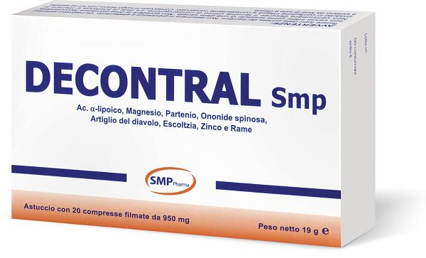 DECONTRAL 20 COMPRESSE - farmaventura.it