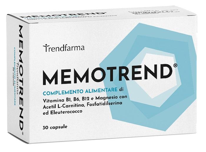 MEMOTREND 30 CAPSULE - Farmaseller