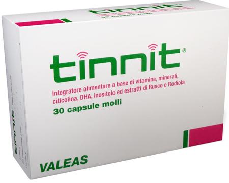 TINNIT 30 CAPSULE - Farmacielo