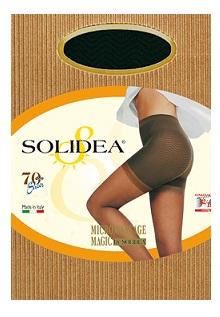 Solidea Magic Sheer 70 DEN Collant Compressivo Anticellulite Colore Cammello Taglia 4 XL