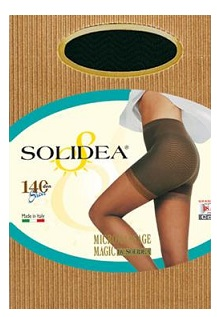 Solidea Magic Sheer 140 DEN Collant Compressivo Anticellulite Colore Cammello Taglia 4 XL