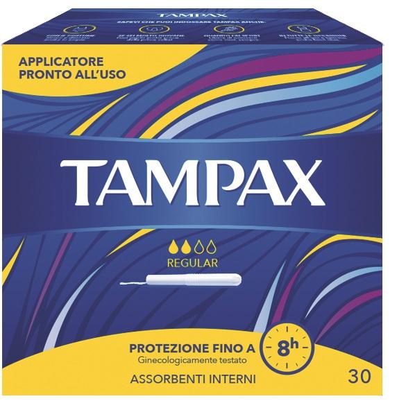 TAMPAX BLUE BOX REGULAR 30 PEZZI - FARMAEMPORIO