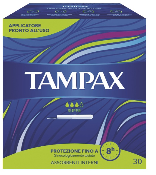 TAMPAX BLUE BOX SUPER 30 PEZZI - Farmacia Bisbano