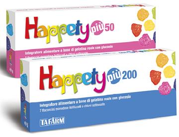 Happety Piu 200 Integratore 7 Flaconcini