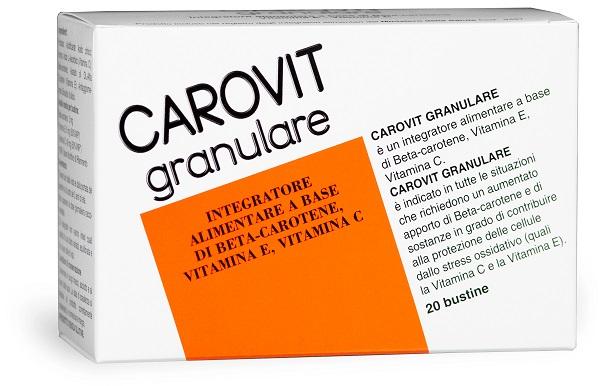 CAROVIT GRANULARE 20 BUSTINE - Zfarmacia