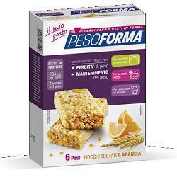 PESOFORMA BARRETTA CEREALI ARANCIA 12 X 31 G - Farmafirst.it