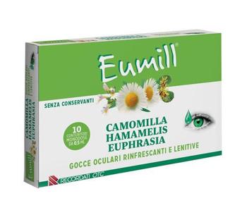 EUMILL GOCCE OCULARI 10 FLACONCINI MONODOSE 0,5 ML - Farmabenni.it