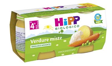 HIPP BIO HIPP BIO OMOGENEIZZATO VERDURE MISTE 2X80 G - Farmabellezza.it