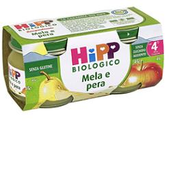 HIPP BIO OMOGENEIZZATO MELA PERA 100% 2X80 G - Farmajoy