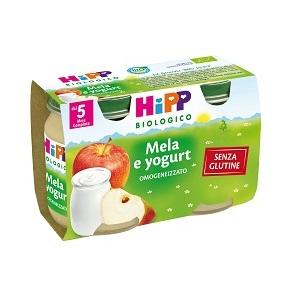 HIPP BIO HIPP BIO OMOGENEIZZATO MELA YOGURT 2X125 G - Farmafamily.it
