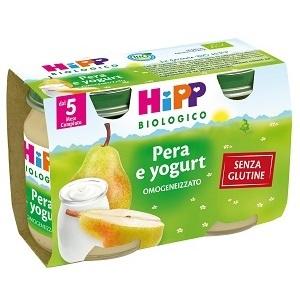 HIPP BIO HIPP BIO OMOGENEIZZATO PERA YOGURT 2X125 G - Farmafamily.it