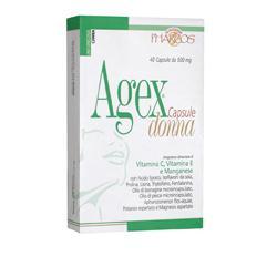 PHARCOS AGEX DONNA 40 CAPSULE - Farmacia Giotti