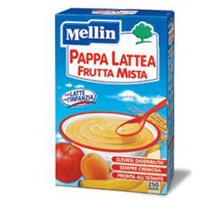MELLIN PAPPA LATTE FRUTTA 250 G NUOVO FORMATO - Farmawing