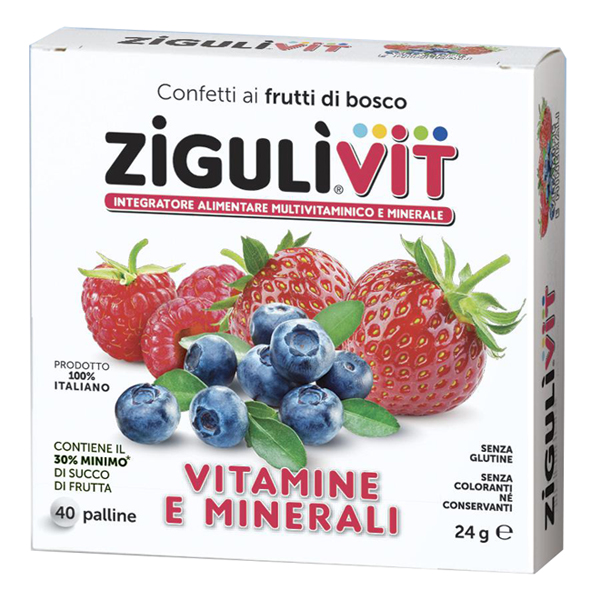 ZIGULI VIT FRUTTIBOSCO 40 CONFETTI - Farmaunclick.it