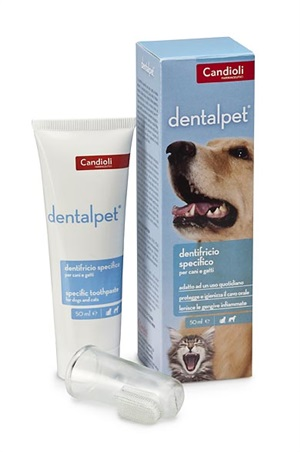 DENTALPET DENTIFRICIO 50 ML - Farmafamily.it