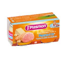 PLASMON OMOGENEIZZATO FORMAGGIO/PROSCIUTTO 80 G X 2 PEZZI - FARMAEMPORIO