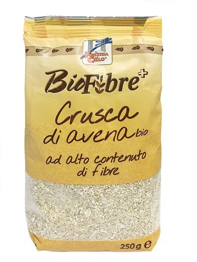FSC BIOFIBRE+ CRUSCA DI AVENA BIO AD ALTO CONTENUTO DI FIBRA 250 G - Farmawing