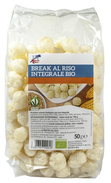 FSC BREAK AL RISO INTEGRALE 50 G - Farmacia Castel del Monte