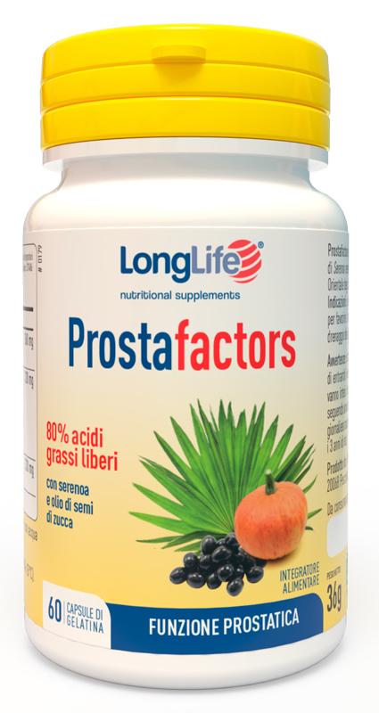 Longlife ProstaFactors 60 Capsule - Arcafarma.it