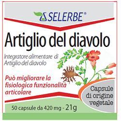 ARTIGLIO DEL DIAVOLO ESTRATTO SECCO TITOLATO 50 CAPSULE - Farmaseller