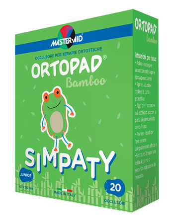 CEROTTO OCULARE PER ORTOTTICA ORTOPAD SIMPATY JUNIOR 5X6,7 20 PEZZI - Farmafamily.it