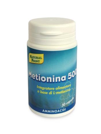 METIONINA 500 30 CAPSULE - Farmaci.me