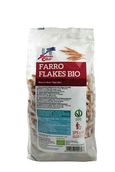 FSC BIOFIBRE+ FARRO FLAKES BIO AD ALTO CONTENUTO DI FIBRA 375 G - Farmacia Castel del Monte