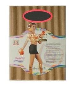 Solidea Panty Silhouette Shorts Pantaloncino Micromassaggiante Anticellulite Colore Nero Taglia 2